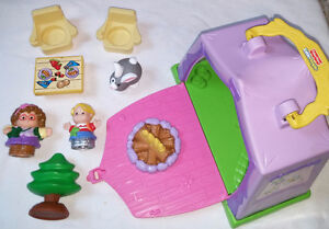 Fisher Price Little People Play N' Go Campsite & Accessories