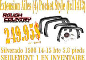 SPECIAL- Fender Flares Silverado 1500 14-15 (bte 5.8)  (FC11413)