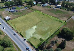 FOR SALE -2.5 Acres, Land Only - 19910 16 Avenue