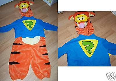 Toddler Size 2T Disney Store Winnie Pooh Super Sleuth Tigger Halloween Costume  - Tigger Halloween Costume 2t