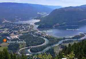 Own a piece of the shuswap and Mara at silver sands rv resort