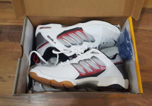 3 pairs Indoor Court Shoes, Brand new, still in their boxes