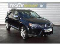 2008 Mitsubishi Outlander 2.0 DI D Warrior 5dr 7 seater TOP SPEC LEATHER ser...