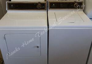 Maytag Washer Dryer, 12 month warranty