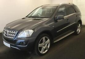 2012 GREY MERCEDES ML300 3.0 CDI SPORT DIESEL AUTO 4X4 CAR FINANCE FROM 50 P/WK