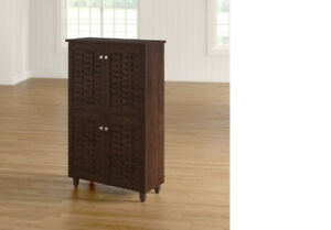 Brand New - Carnegie 18-Pair Shoe Storage Cabinet