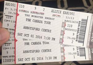 Abbotsford PBR tickets