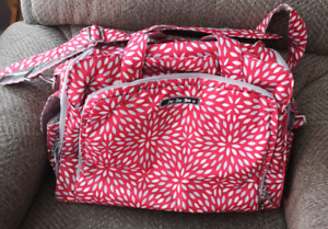 JuJuBe BFF Scarlet Petals Red Diaper Bag