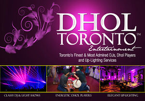 FREE DHOL SERVICE with our INDIAN   PAKISTANI DJ Packages