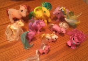 original MY LITTLE PONY  assorted 10 piece lot