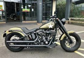 2016 Harley-Davidson SOFTAIL FLSS SLIM S FLSS Olive Gold (16MY) Custom Petrol M