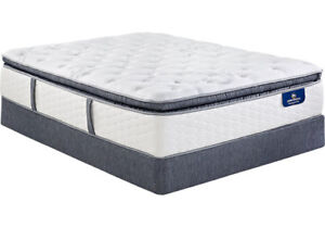 Euro Top Queen Mattress and Box ( Mattress Sale )