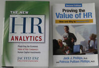 HR data analytics textbooks - NEW