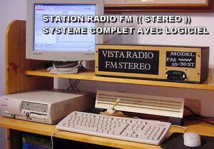 STATION RADIO FM STEREO - DISTANCE 15 @ 30 K.M - ANTENNE - 975.$