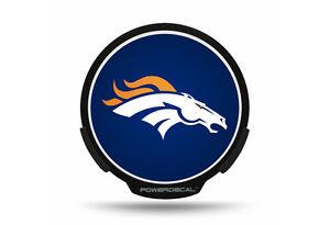 Denver Broncos NFL LED Power Decal ~ NEW!