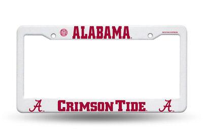 Alabama Crimson Tide License Plate Cover Frame NEW!!