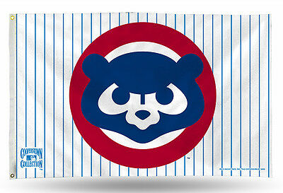 Chicago Cubs 1984 Cooperstown Mlb Banner Flag 3 X 5  36  X 60     New