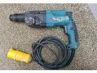 Makita sds hammer drill 110v HRR2440