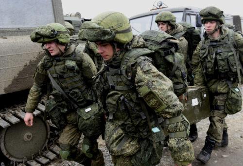 Russian Ratnik 1Sh118 Raid rucksack (last generation) in EMR camo