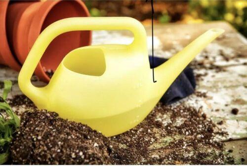 Watering Can Nozzle Indoor Outdoor Plastic Translucent Yello