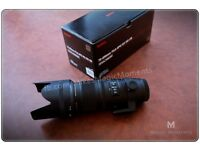 Sigma 70-200 f2.8 for Canon - brand new APO DG HSM EX OS
