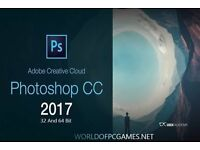 Adobe CC 2017 Photoshop / Illustrator / Premiere Pro / InDesign for Windows / Macbook