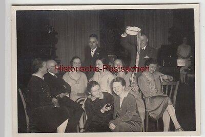 (F12338) Orig. Foto Abschiedsfest der Lehrgruppe UIIa 1929, mit Lehrern
