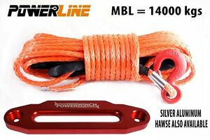 12mm-x-28-m-SYNTHETIC-WINCH-ROPE-Dyneema-SK75-14000-kg-ALUMINUM-HAWSE