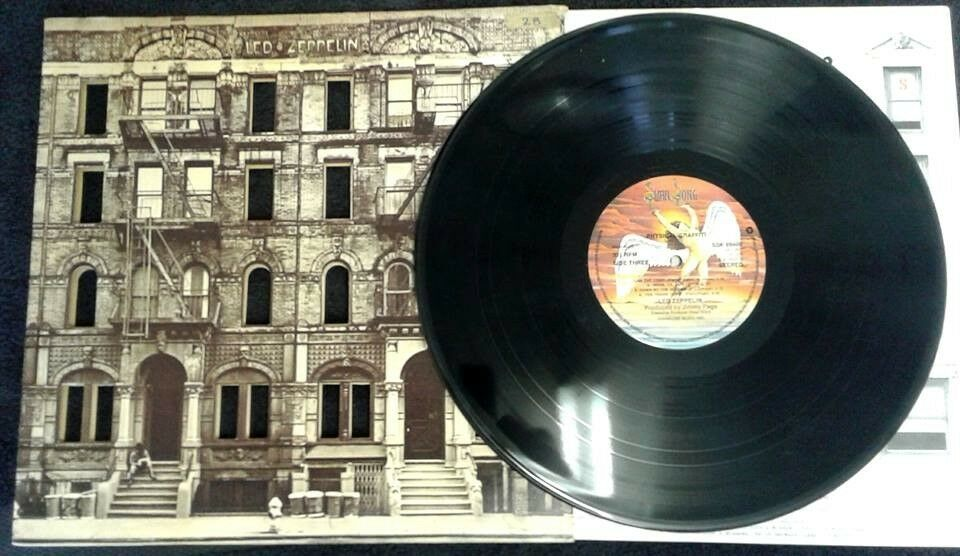 Led Zeppelin ‎– Physical Graffiti, G, released on Swan Song ‎in 1975, Heavy Rock