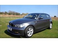 BMW 1 SERIES 2.0 118i SE 3dr, Graphite, Low Milage, Excellent condition