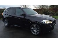 2014 BMW X5 3.0D M SPORT AUTO 7 SEATER, SAPPHIRE BLACK, CREAM LEATHER, 360 CAMERA, HEADS UP DISPLAY