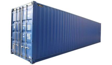 Wanted: Wanted Shipping Container
