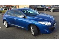 Renault Megane 1.6vvt imusic,2010, 46400, excellent condition