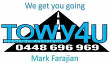 Towy4U - Roadside Assistance and Towing North Ryde Ryde Area Preview