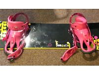 Burton Bindings Size 7 (shoe size 6)