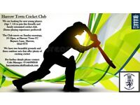 Harrow Town Cricket club colts new entrants