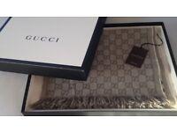 Beige Gucci Scarf