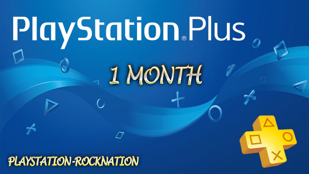 1 Month PlayStation PSNSS Plus PS4-PS3 -Vita (( NO CODE ))