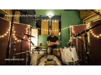 Former Royal Marines Drummer - professional drum & percussion lessons