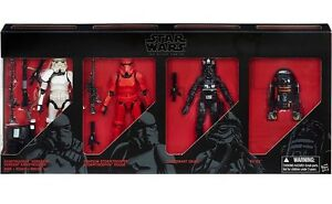 Star wars black series imperial 4 pack