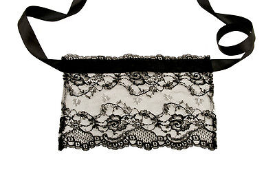Mask Venetian Wolf in Lace Calais Made in France Line Erotic 1244V64
