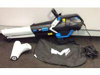 Mac Allister MBV 3000 Electric Garden Leaf Blower Vacuum - Used