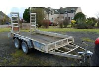 Twin Axle Indespension Plant Trailer - 3.5t
