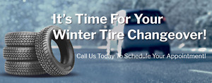 Mobile Winter Tire Changeover  No Tax Sale