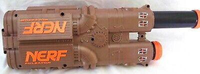 NERF Pulsator Ball Blaster Guns with yellow foam ammo balls (bundle of 2)