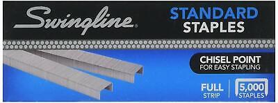 Swingline Sf1 Standard Staples 5000 Per Box - Free Shipping