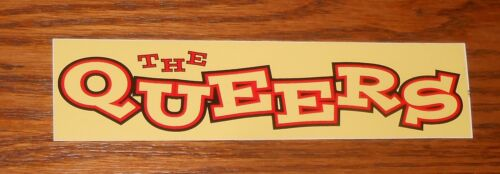 The Queers Beyond the Valley Bumper Sticker Decal Promo 6x1.5 RARE