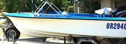 4.8m Cruise Craft with 2013 90hp outboard