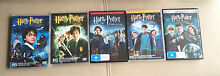 DVDs - 5 Harry Potter movies Warners Bay Lake Macquarie Area Preview