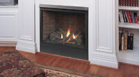 """MAJESTIC Patriot Direct Vent Gas Fireplace 36"""""""